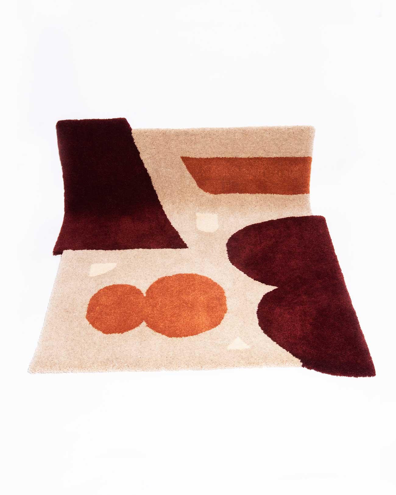 studio mirte van kooten hand tufted dawn rug 04