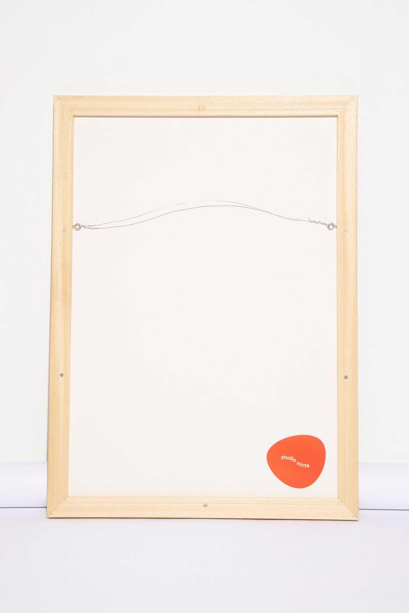 studio mirte van kooten framed rug big back