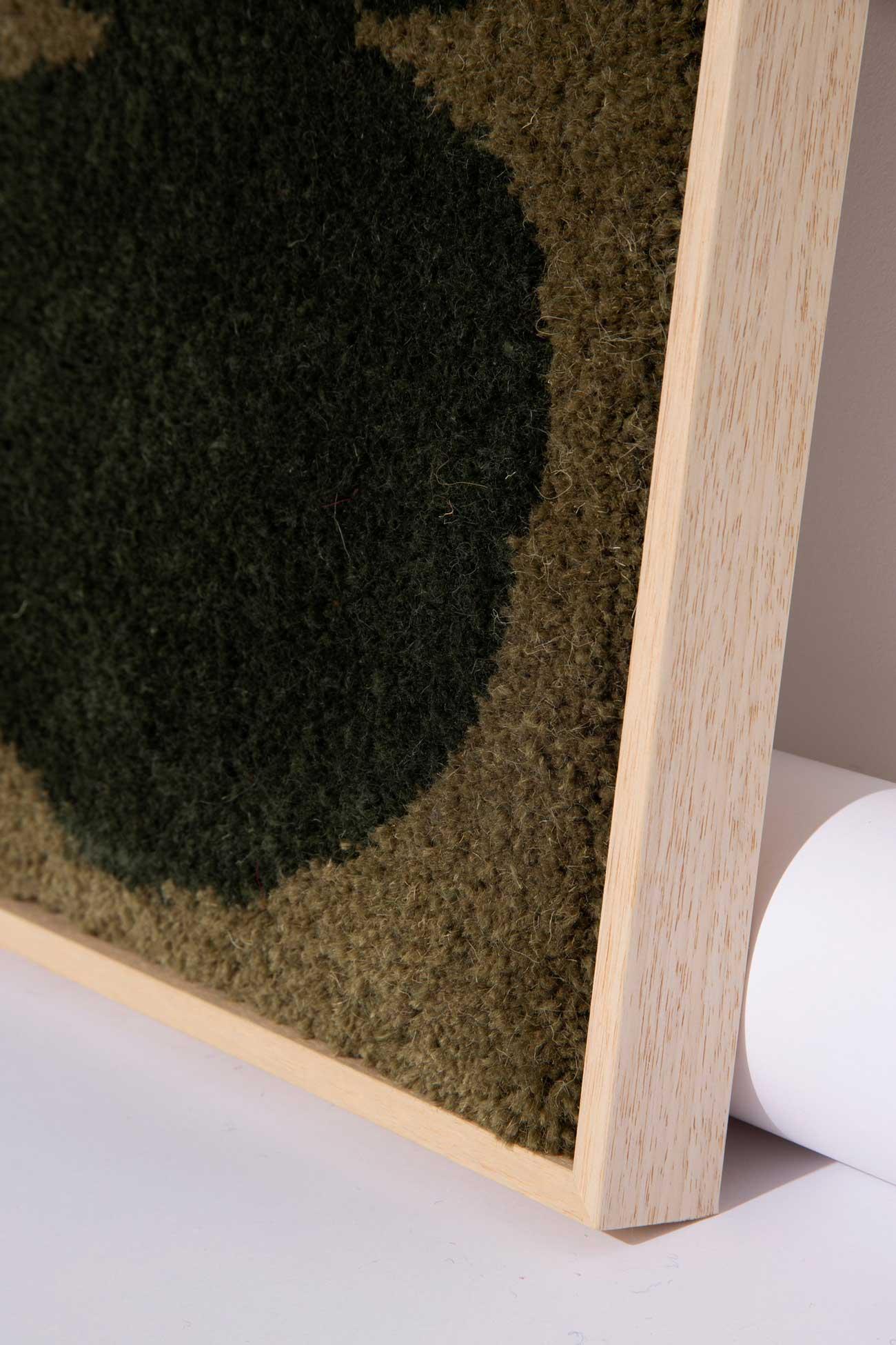 studio mirte van kooten framed field rug 03