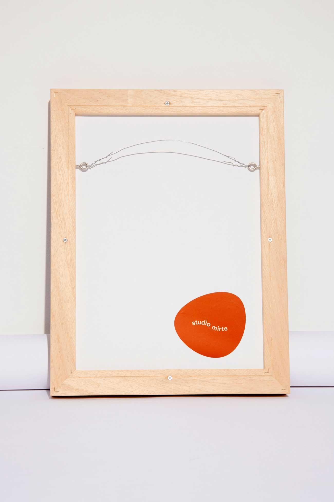 studio mirte van kooten framed rug small back