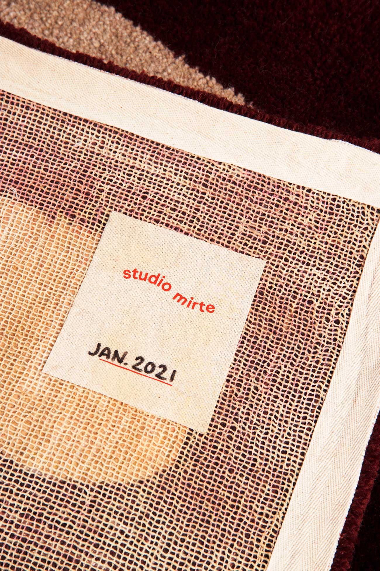 studio mirte van kooten hand tufted dew rug 06
