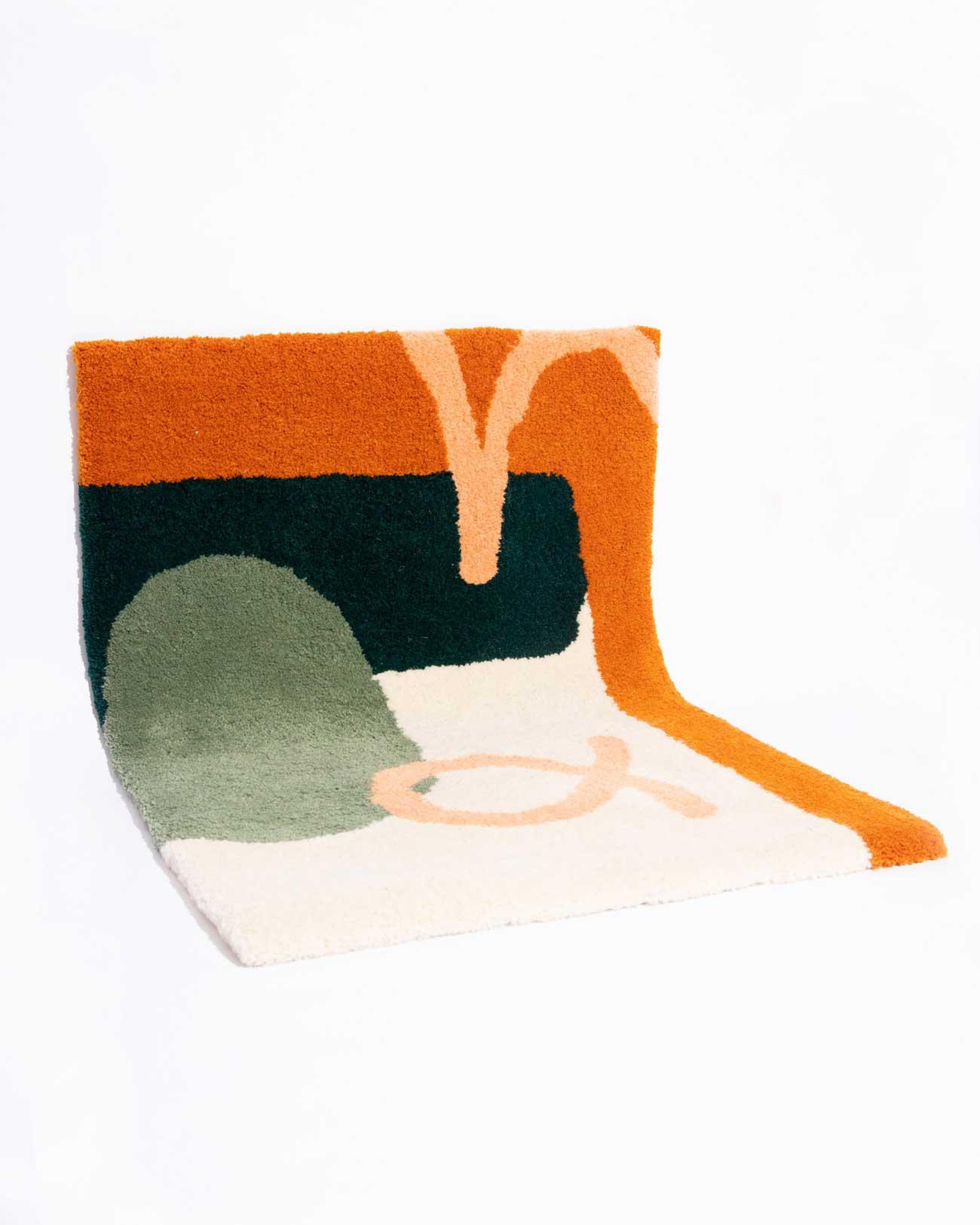 studio mirte van kooten hand tufted sunup rug 03